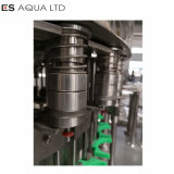 Riga di coperchiamento di riempimento di plastica macchina della pianta di lavaggio delle bottiglie dell'acqua minerale