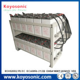 panneau solaire de vie de la batterie 12V 400ah de côté solaire 15-Year de batterie solaire avec la batterie Integrated
