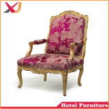 Sofa des Hotel-König-Queen Chair Throne Wedding, das Bankett-Stuhl speist
