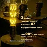 Bulbos de Edison de la vendimia de MTX, iluminación pendiente del filamento antiguo para el día de fiesta Víspera de Todos los Santos E26