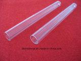 Tubo di vetro del quarzo di Transparant di elevata purezza per la lampada UV