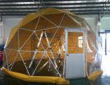 Diameter 7.5m van de Tent van de koepel de 15m Transparante Hexagonale Tent van de Tent van de Achthoek van de Tent van de Koepel
