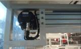 Máquina plástica automática de Thermoforming da bandeja do alimento com empilhador