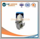 CNC Stevig Carbide 3 van het Wolfram Fluiten voor Aluminium