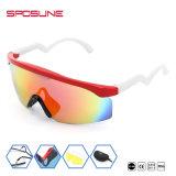 Profissional novo óculos de sol de ciclagem polarizados 400 UV da bicicleta dos esportes dos óculos de proteção da bicicleta dos vidros