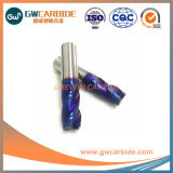10X40X100 HRC65 Stevig Carbide 3 Molens van het Eind van de Fluit de Vlakke