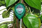 庭のための1つの土の湿気のメートルの水素イオン濃度指数の日光のテスターに付き3つ