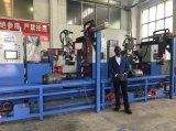 半自動LPGシリンダーベースリングのミグ溶接機械