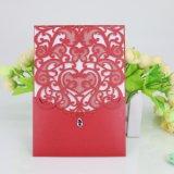 Tarjeta de papel modificada para requisitos particulares a todo color de la tarjeta del regalo