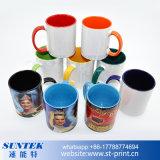 sublimazione di 11oz Cina di ceramica/tazza della porcellana per lo scambio di calore