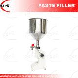 Máquina de rellenar de la goma A03 del agua manual de la máquina de rellenar