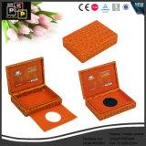 Contenitore di cuoio rosso su ordinazione di lusso di collana (5530R1)