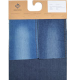 Polyester coton stretch Denim/tissu Denim 6.6oz Slub