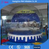 Sfera gonfiabile di esposizione per la sfera gonfiabile del globo della neve della decorazione di natale