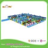 子供ドバイのための環境に優しく物質的な城デザイン屋内運動場