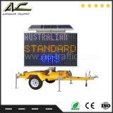 bewegliche intelligente Fahrbahn-batteriebetriebenes Solarwarnleuchten-Zeichen