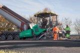 Pavimentadoras de múltiples funciones del asfalto de la pavimentadora de la buena calidad