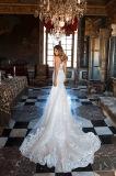 Амели скалистых 2018 последних кружева вышитого тюля Русалки свадебные платья