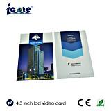 карточка 4.3 '' LCD видео- для недвижимости