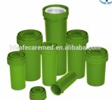 Medische de palm-n-Draai van het Voorschrift van de Duw Beneden Onverwachte Plastic Flesjes