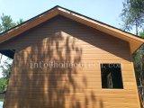 منزل خشبيّة مع [وبك] مركّب جدار [كلدّينغ]/[دكينغ]/درابزين