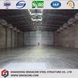 Amplia gama prefabricados de estructura de acero almacén para camiones