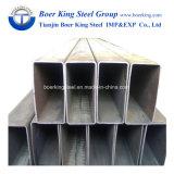 120*40*1,5mm tube de tuyaux en acier rectangulaire