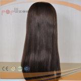 Barato de largo peluca de la caída del pelo humano (PPG-l-01485)