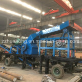 Maalmachine van de Hamer van de dieselmotor de Aandrijving Bewogen, de Gouden Molen van de Hamer van het Proces van het Erts
