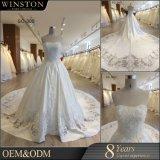 Guangzhou-Fabrik-reales Beispielspätestes Hochzeits-Kleid