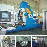 Tipo de rodillo de alimentación triple CNC máquina de formación de flujo de Spinning