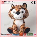 아기 아이를 위한 최고 연약한 호랑이 포옹 박제 동물 견면 벨벳 장난감