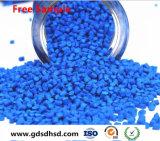 De PE/PP Masterbatch cor azul de plástico com pigmento de 15%