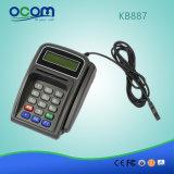 Kb887 Mini Teclado Teclado magnético programable con lector de tarjetas magnéticas de tarjetas inteligentes