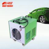 カーケアの製品エンジンの脱炭素処理をする機械