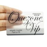 プラスチック明確なカードか透過PVC名刺