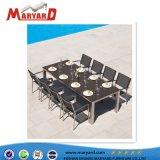 Jardin et table à manger moderne de l'hôtel Président fixés pour des projets de loisirs