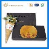 Rectángulo de torta modificado para requisitos particulares de luna, rectángulo del acondicionamiento de los alimentos, rectángulo de papel del regalo con el rectángulo interno y funda