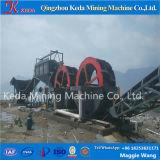 Máquina de la desalación del arena de mar, arandela de la arena con el tipo de la rueda