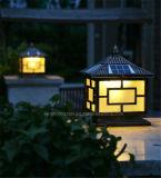 屋外の庭LEDの太陽柱ランプのための装飾の太陽ライト