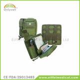 医学の屋外の軍隊フィールドキャンプの緊急時の救急箱