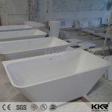 卵の整形石造りの樹脂の白い大理石の浴槽