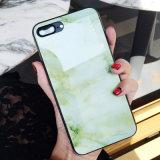 caso della protezione della parte posteriore di vetro duro 9h per il metallo molle del silicone di iPhone per il iPhone X