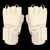 Weiß-Anti-Schlagende elektronische Handschuhe mit Polizei-Gerät