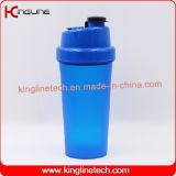 bottiglia di plastica dell'agitatore della proteina 700ml con memoria e la molla del ragno (KL-7026)