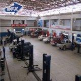 長いスパンの商業使用のプレハブは鉄骨構造車修理研修会デザインに電流を通した