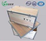 ふたが付いている中国の工場直売のFoldable輸送の木枠