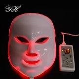 Máscara facial de 7 colores LED del fotón para el rejuvenecimiento de la cara y del cuello