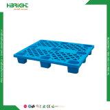 Nove piedi pallet laterale di plastica del magazzino di singolo