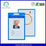 Carte sèche personnalisée d'identification de PVC d'impression